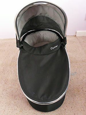 REDUCED PRICE - Black Oyster Carrycot
