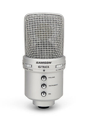 Samson G-Track USB Condenser Microphone With Audio Interface #SAGM1U