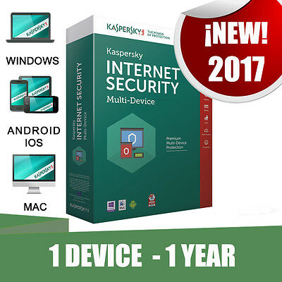 Kaspersky Internet Security Multi-device 1 Pc device 1 year Original