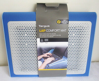 Blue Targus Non Slip Notebook Laptop Tray Cooler Comfort Chill Mat for Car, Bed