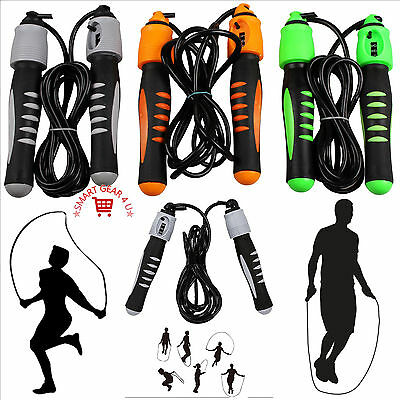 Exercise Gym Fitness Jump Skipping Rope With Counter Boxing Sport Training
