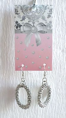 Boutique Earring Display Fashion Jewelry Card 70 Cute Damask & Bow Hang Display