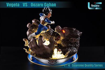 Dragon Ball Z Vegeta Vs Oozaru Gohan 1/4 Resin Figure Figura Statue.