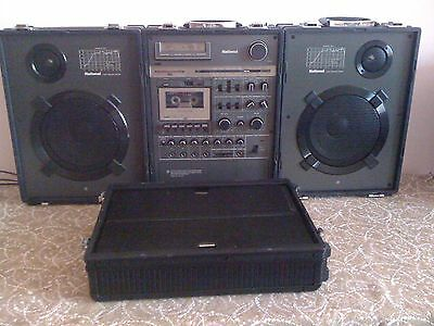 Japanese Big Ghettoblaster/boombox National Rx-A2Pl In Good Condition