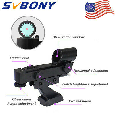 Hot Red Dot Finder Scope Astronomy Star Finder Sighting for Telescope+Battery US