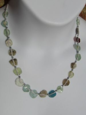 Stunning Ancient Roman Glass Beads Necklace Unique and Wearable