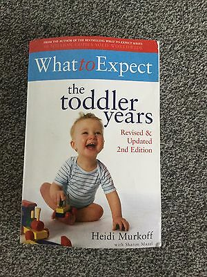 What To Expect The Toddler Years Second Edition Book