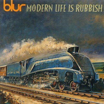 2Lp Blur Modern Life Is Rubbish Indie Britpop Vinyl 180G Gatefold Cover