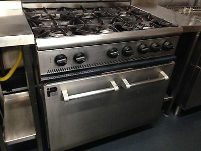 Parry Commercial Six Ring Gas Cooker