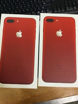 iPhone 7 Plus - Replacement Box - Red - Lot Of 10
