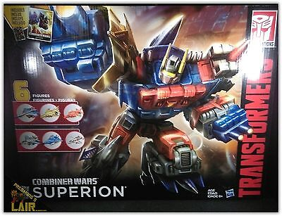 Transformers Combiner Wars G2 Superion Aerialbots Gifset MIB OPENED COMPLETE