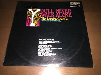 The London Chorale - You'll Never Walk Alone - vinyl LP 1969
