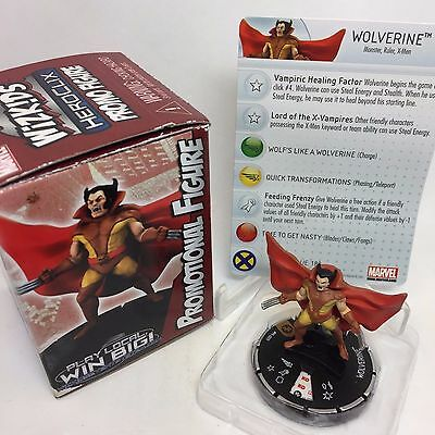 Wolverine #M-009 2016 Convention Exclusive Marvel Heroclix figure with card