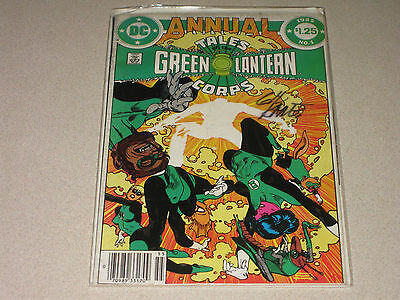 Tales of the Green Lantern Corps Annual #1 DF Signed Gil Kane