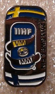 Official pin of the ice hockey World Championship, Sweden - 2013