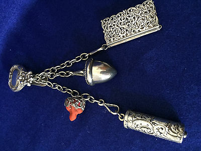 Chatelaine Sewing Sterling Silver Simons
