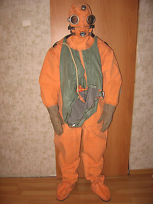 Russian Soviet divers rubber drysuit SGP (Not used). 1 size.