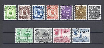 ABU DHABI 1964 SG 1/11 USED Cat £55