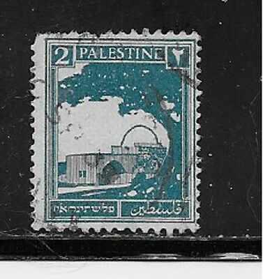 Palestine Stamps- Scott # 63/A3-2m-Canc/LH-1927-42-NG