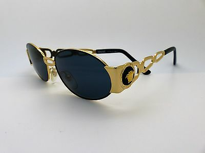 Versace Gianni Sunglasses Mod S34 Col 09M Vintage Genuine New Old Stock