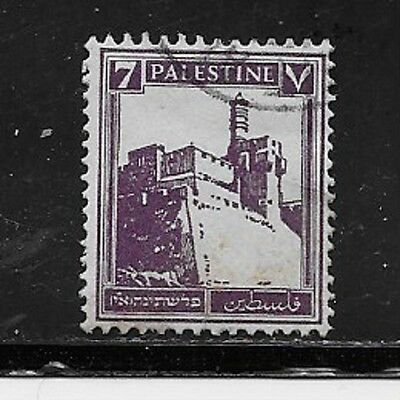 Palestine Stamps- Scott # 70/A5-7m-Canc/LH-1932-NG