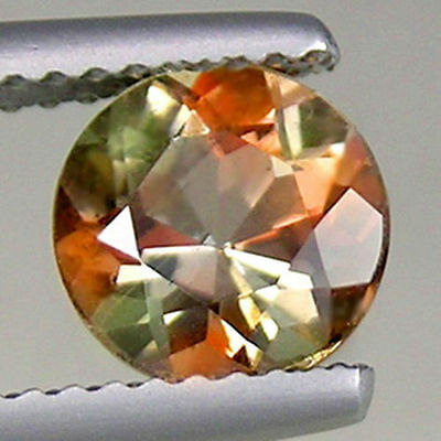 0.53Ct GLORIOUS Gem - Amazing Multi-Color Sparkle Natural ANDALUSITE 5mm Rd UP16