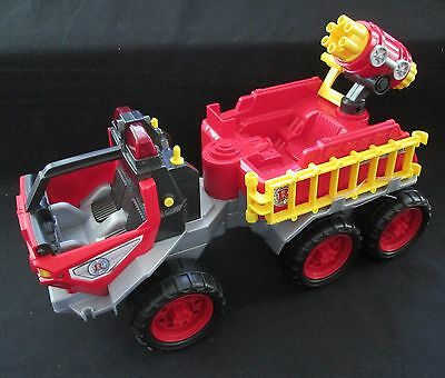 Fisher-Price Hero World Rescue Heroes Fire Truck 'RHFD 326' working lights sound