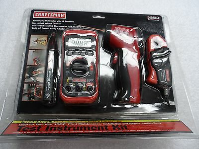 Craftsman Electrical Test Instrument Kit (with carrying case) NIP - p/n 3482004