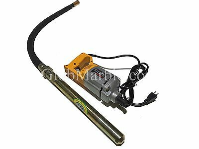 Portable Concrete Vibrator Motor. Shaft 110V 300 W. Electric Hand Held Concrete