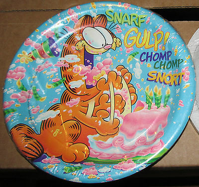 Rare*Sealed*Jim Davis' GARFIELD the Cat Party Dessert Plates!