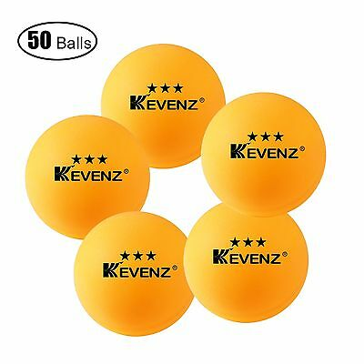Kevenz 3-star Ping Pong Balls (Tournament Ball_5... - Brand New +  Free Shipping