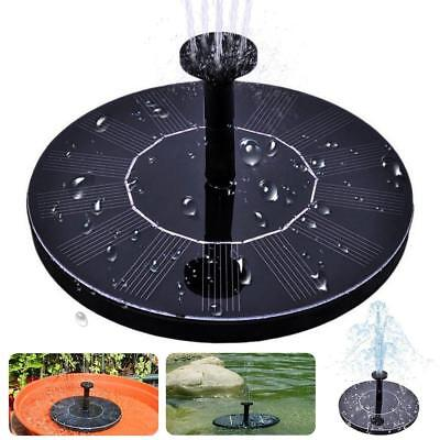 Solar Bird Bath Fountainmaxin Free Standing 1.4W... - Brand New +  Free Shipping