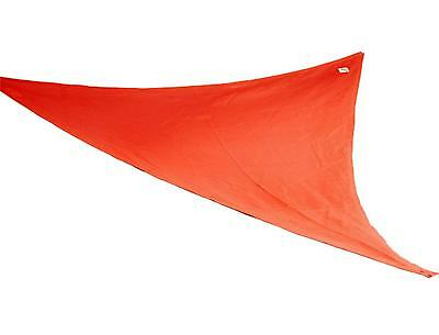 Coolaroo Party Sail 9 Feet 10 Inch Triangle Red - Brand New +  Free Shipping