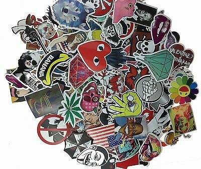 (Pack of 50) Stickers Skateboard Snowboard Vinta... - Brand New +  Free Shipping