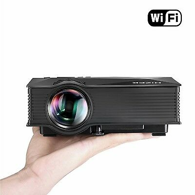 Portable WiFi Projector Hizek 1200 Lumens LED Wi... - Brand New +  Free Shipping