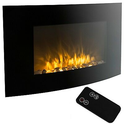 XtremepowerUS Wall Mount Electrical Fireplace In... - Brand New +  Free Shipping