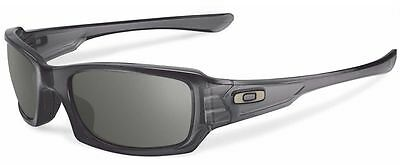 Genuine OAKLEY Fives Squared OO9238 Replacement Sunglasses Lenses - Warm Grey