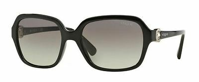 Genuine VOGUE 2994SB Replacement Sunglasses Lenses - Gradient Grey Polycarb.