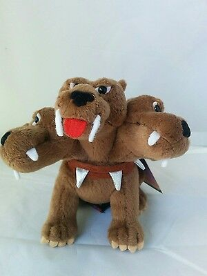 "Gund Harry Potter Fluffy the 3-Headed Dog Collectible 5 1/2"" Plush 75405 NWT"