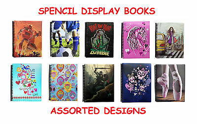Spencil A4 Display Book-Assorted Designs