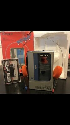 Walkman Sony WM-8  Include Guardians Of The Galaxy Original Cassette Soundtrack