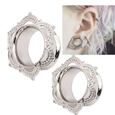 1 Pair Ear Plugs and Tunnels Piercing Stretcher Gauges Body Jewelry Ear Expander