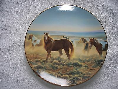 Proud Sentinels Of American West Youngblood Nancy Glazier Horse Plate