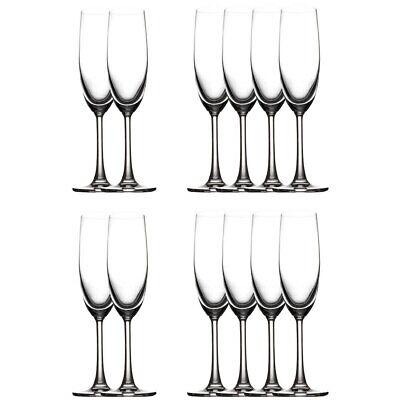 12pk Maxwell & Williams Cosmopolitan Champagne Flute Glasses 160ml Bar Tableware