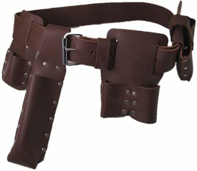 Heavy Duty Leather Scaffold Tool Belt hand made quality tanned leather
