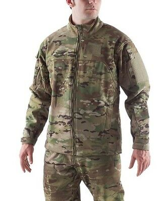 Massif Elements Multicam USAF Jacket w/ Battleshield X Fabric (FR) - Small/Reg