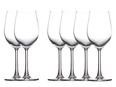 6pk Maxwell & Williams Cosmopolitan White Wine Glasses 345ml Bar Tableware