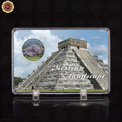 WR Wonders of Mexico Teotihuacan 2017 New Design Mexican Silver Coin /w Display