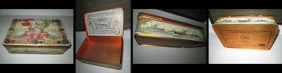PASTRY & OTHER BOXES: Vintage ITALIA D.Lazzaroni & Co.SpA large metal box.
