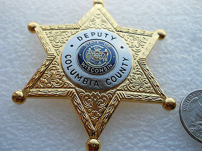 Obsolete Deputy Sheriff Wisconsin Star Badge